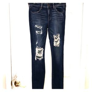 NEVER WORN AEO Jegging Jeans